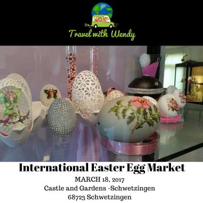 International Easter Egg Market - Schwetzingen