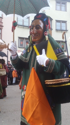 Rottweil - traditional costume
