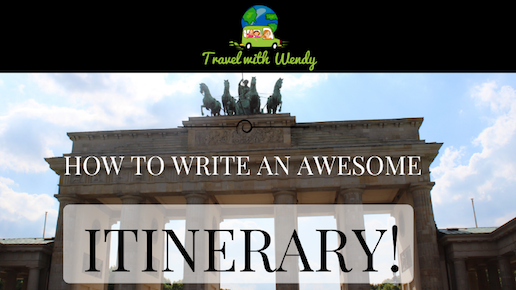 how-to-write-an-itinerary