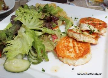 TWW - Balingen goat cheese salad