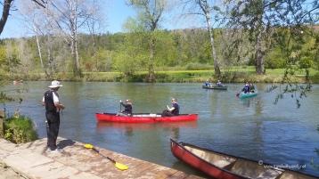 TWW - canoeing on the Neckar