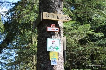 TWW - Grünhütte sign