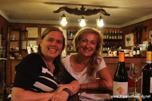 TWW - Sweet Claudia Cordara at wine tasting