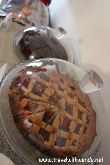 Typical Italian marmelade tart for breakfast