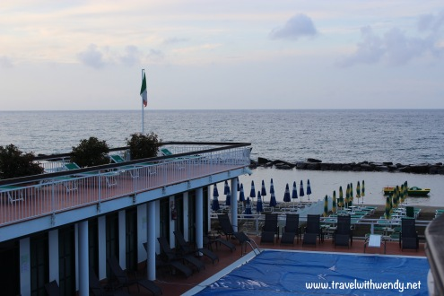 TWW - view from Hotel Gabriella Diano Marina