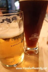 TWW - beer at Haxbauer