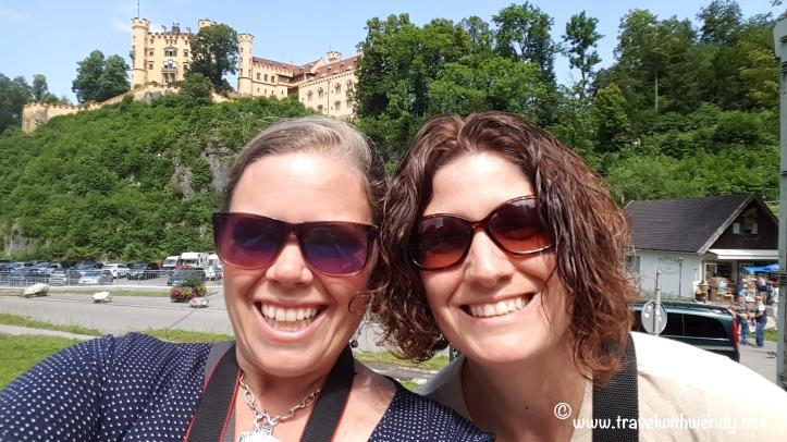 TWW - Jill and I near Neuschwanstein