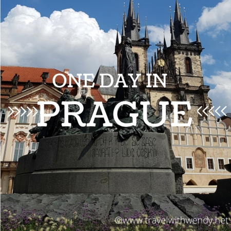 ©Travel with Wendy - One Day in Prague title page www.travelwithwendy.net