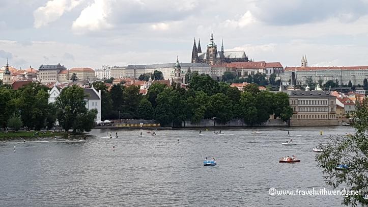©TravelwithWendy - Prague river activity www.travelwithwendy.net