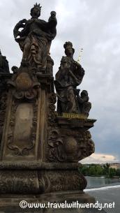 ©TravelwithWendy - statues in Prague www.travelwithwendy.net
