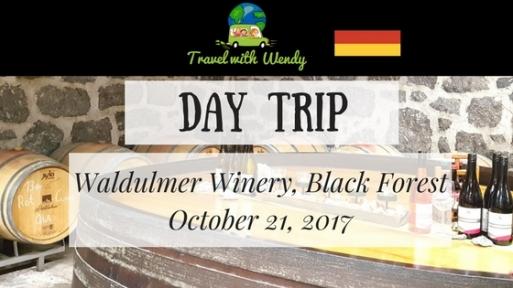 Wine Tasting DAY TRIP - Oct 21