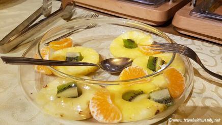 Fresh fruit for breakfast - Hotel Wilson
