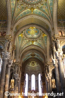 Inside the Notre Dame Basilica - Lyon