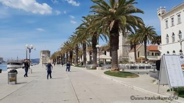 Promenade in Trogir