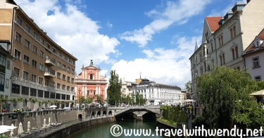 Ljubljana bridges - SLOVENIA