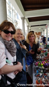 Shopping fun at the markets