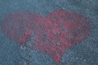 sLOVEnia sidewalk - BLED