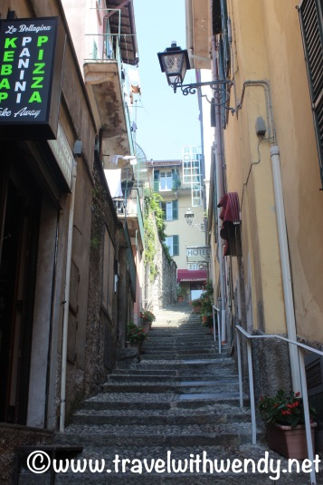 Street to Hotel Bellagio