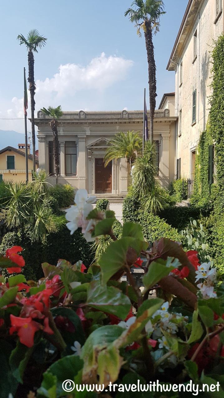 Strolling through Bellagio