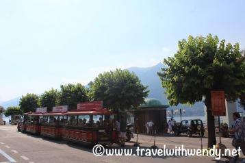 Train rides around Bellagio