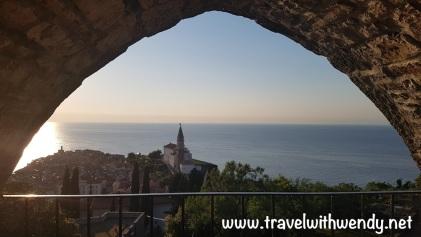 Views from the Walls of Piran