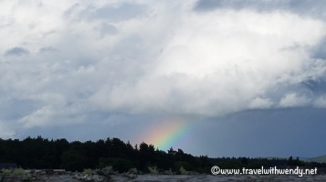 Culloden ~ Rainbow over Culloden