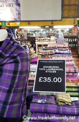 WEAVING MILL - Find your Tartan - here