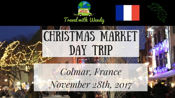 CHRISTMAS DAY TRIPS - Colmar FRANCe