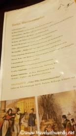 NicolaiViertel - Nußbaum - Speisekarte