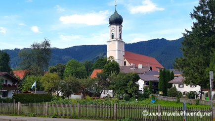 Oberammergau - Church