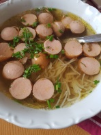 Würstle Soup