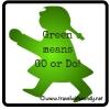 Green girl!