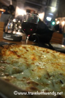 Green Hours - Cheese Pizza and Wine