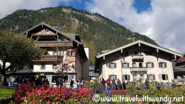 Beautiful town of Mayrhofen