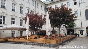 Augustiner Keller Courtyard