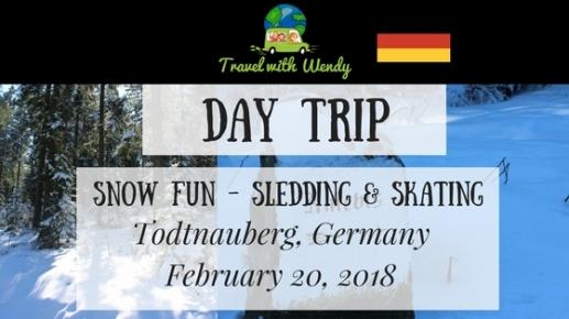 FEB DAY TRIP - Snow fun