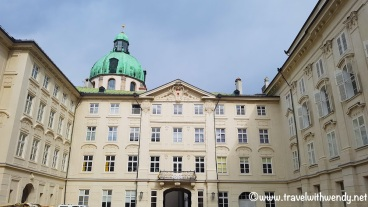 Hofburg - from the courtyard
