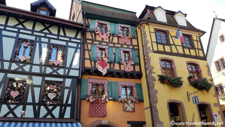 Riquewihr Gingerbread houses