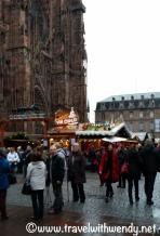 Strasbourg Christmas streets