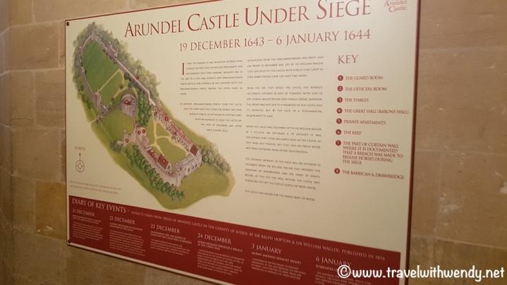 Arundel Castle still stands