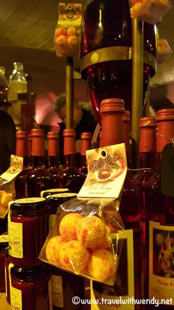 Wine in the wine cellar